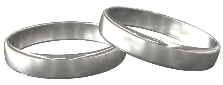 結婚指輪(マリッジリング)、プラチナ