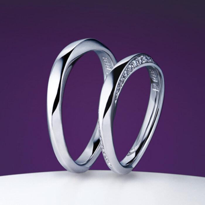 NIWAKA(俄)の結婚指輪「凛」(りん)