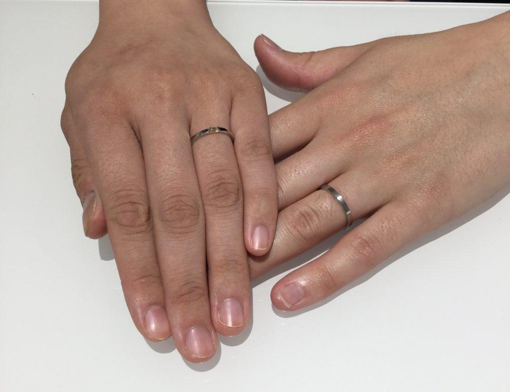 ルシエ のアルクのご結婚指輪をご成約(新潟市/S様&M様)