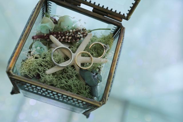 婚約指輪(エンゲージリング)、結婚指輪(マリッジリング)
