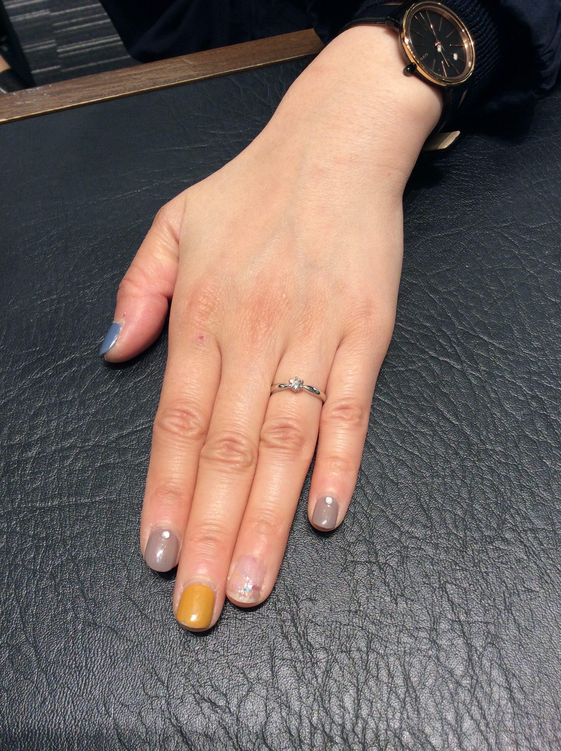 婚約指輪 エンゲージリング ダイヤモンド