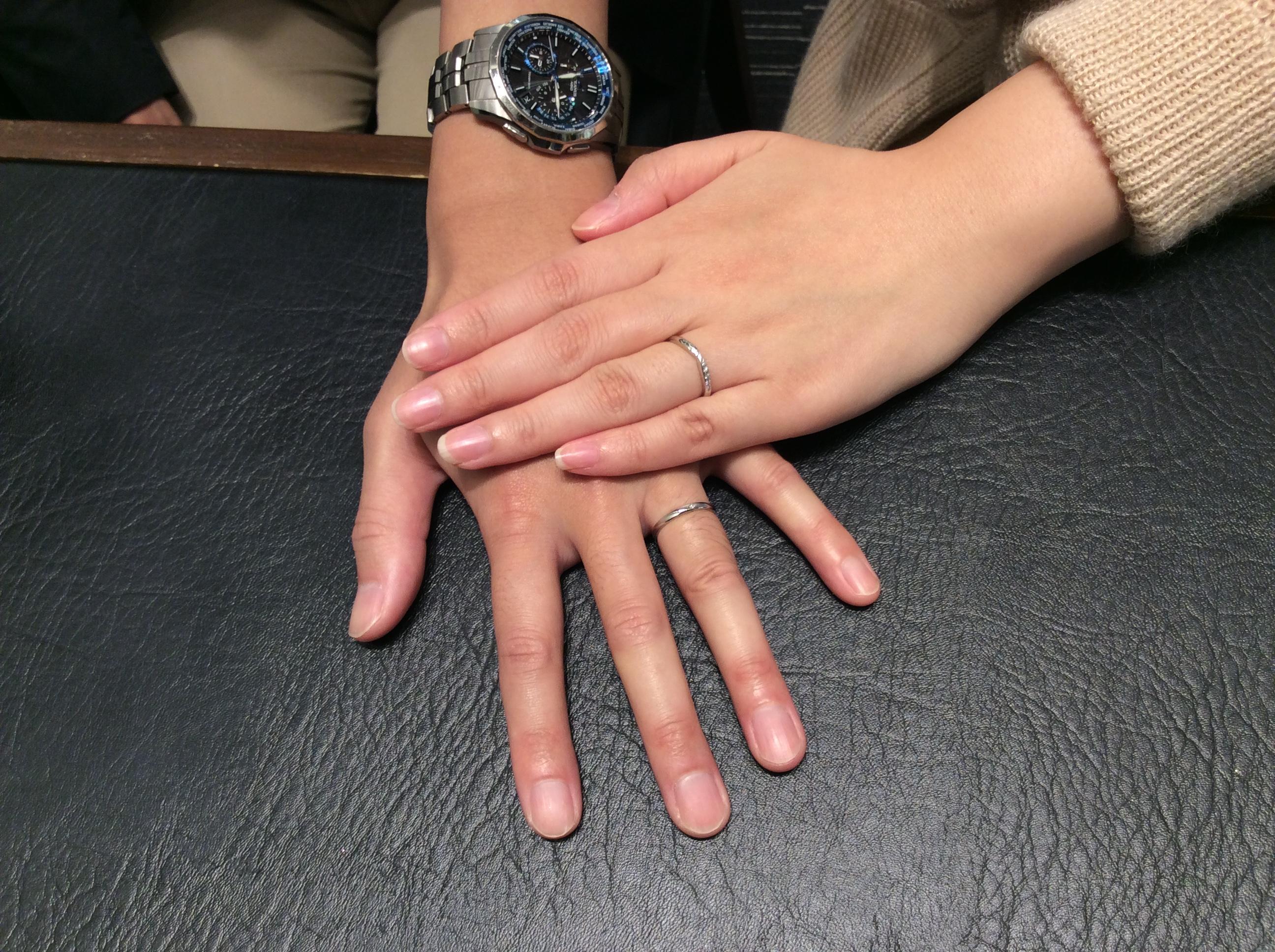 ロイヤルアッシャーの結婚指輪をご成約💍(新潟市/S様・E様)