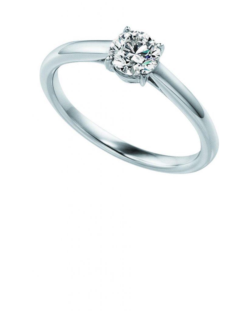 フォーエバーマーク ダイヤモンド 婚約指輪 エンゲージリング