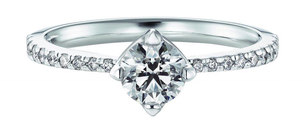 フォーエバーマーク 婚約指輪(エンゲージリング)