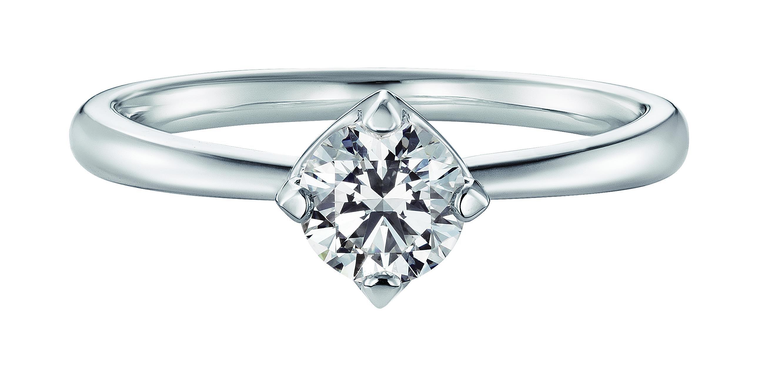 ダイヤモンドが綺麗なブランド [フォーエバーマーク] の婚約指輪/結婚指輪