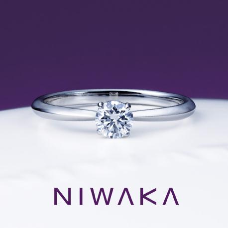 俄 婚約指輪(エンゲージリング) 花篝(はなかがり)画像