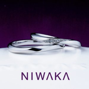 結婚指輪 朝葉