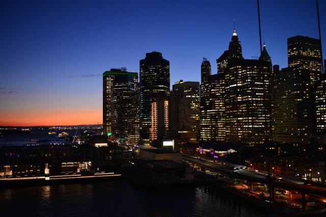 ニューヨーク マンハッタン夜景