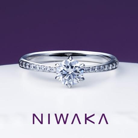 俄 婚約指輪(エンゲージリング) かれん