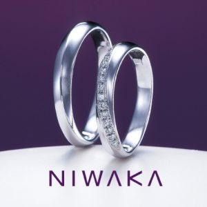 俄(にわか)NIWAKA 結婚指輪(マリッジリング) 綺羅(きら)画像