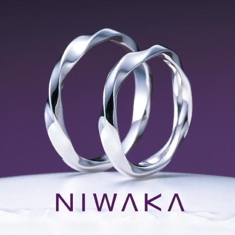 俄(にわか)NIWAKA 結婚指輪(マリッジリング) 禅の輪(ぜんのわ)画像