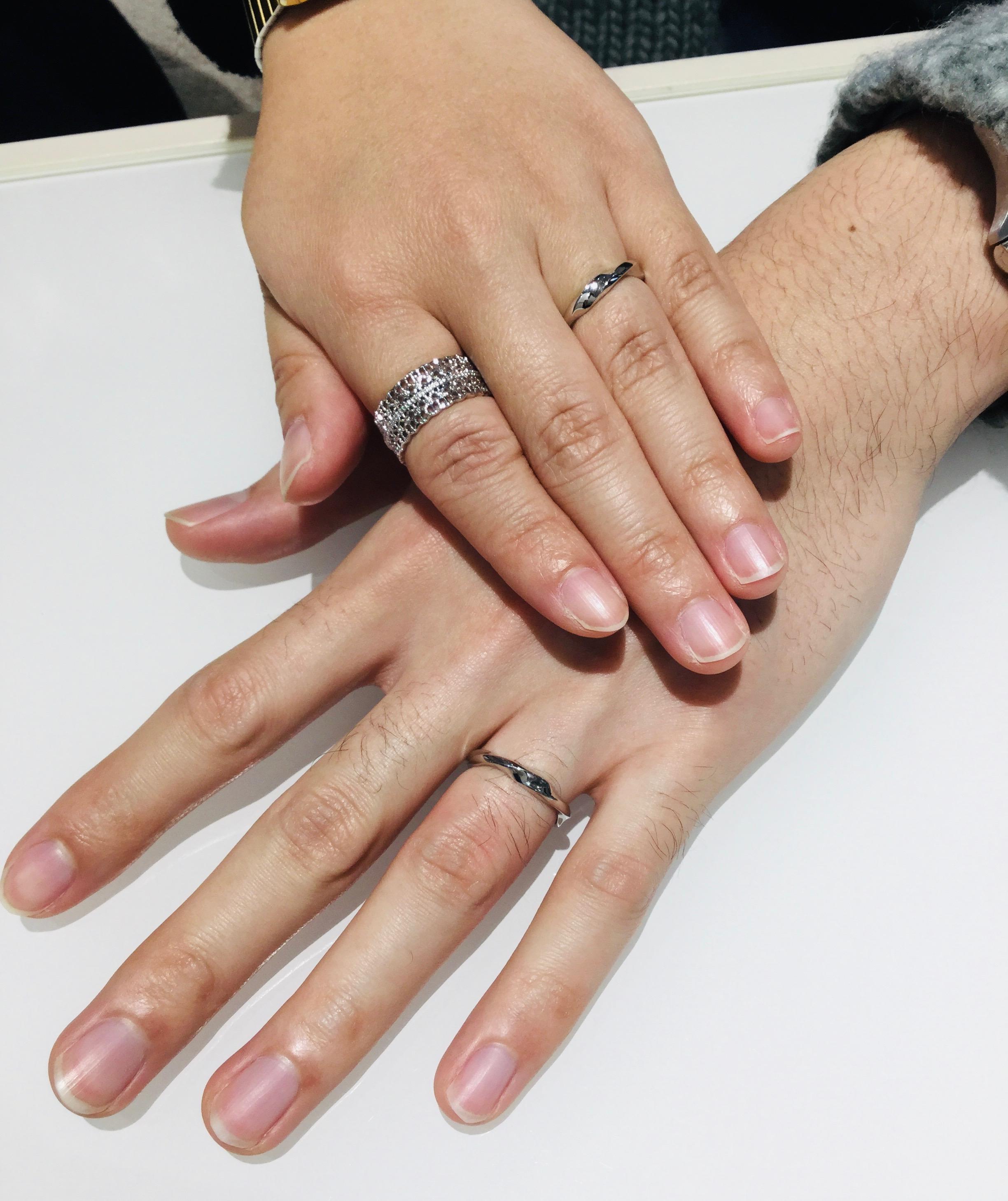 【結婚指輪】俄(にわか)をご成約/新潟市H様・Y様