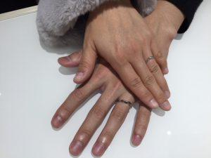 【俄(にわか)】の結婚指輪 初桜をご成約(小千谷市/N様・S様)