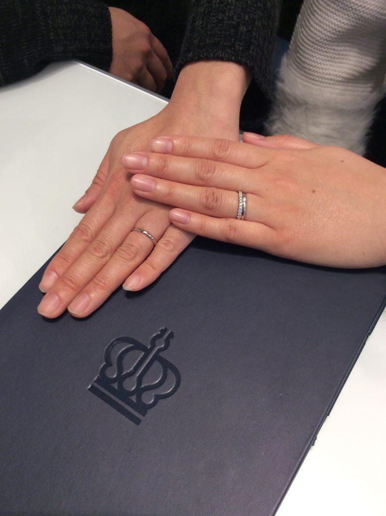 【婚約指輪・結婚指輪】ロイヤルアッシャーをご成約