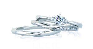 ルシエ/LUCIE 婚約指輪セリーン・結婚指輪リップル
