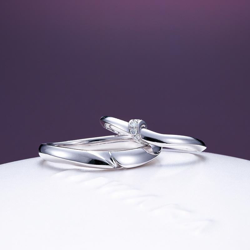 俄(にわか)結婚指輪「結(ゆい)」/新潟市K様・長岡市O様