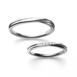 ポンテヴェキオの結婚指輪をご成約/新潟市M様・W様