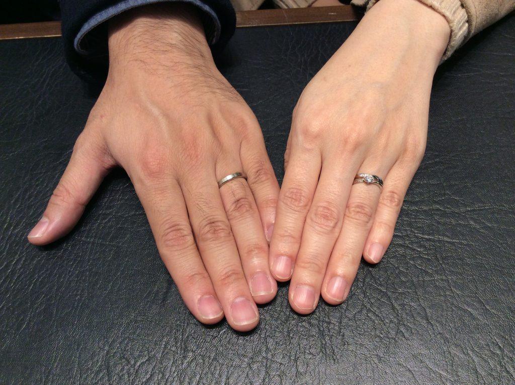 婚約指輪・結婚指輪【俄(にわか)・ニューヨーク俄(にわか)】/新潟市S様・K様