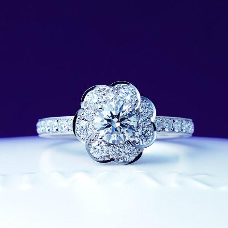 俄(にわか) 花麗(はなうらら) 婚約指輪(エンゲージリング)の画像