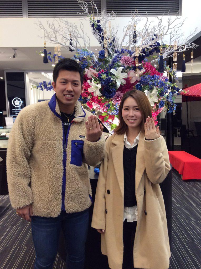 ハワイアンジュエリー「Maxi(マキシ)」の結婚指輪/小千谷市D様・M様
