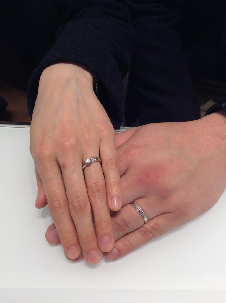 ルシエ・俄(にわか)の婚約指輪・結婚指輪をご成約/T様&S様のご紹介