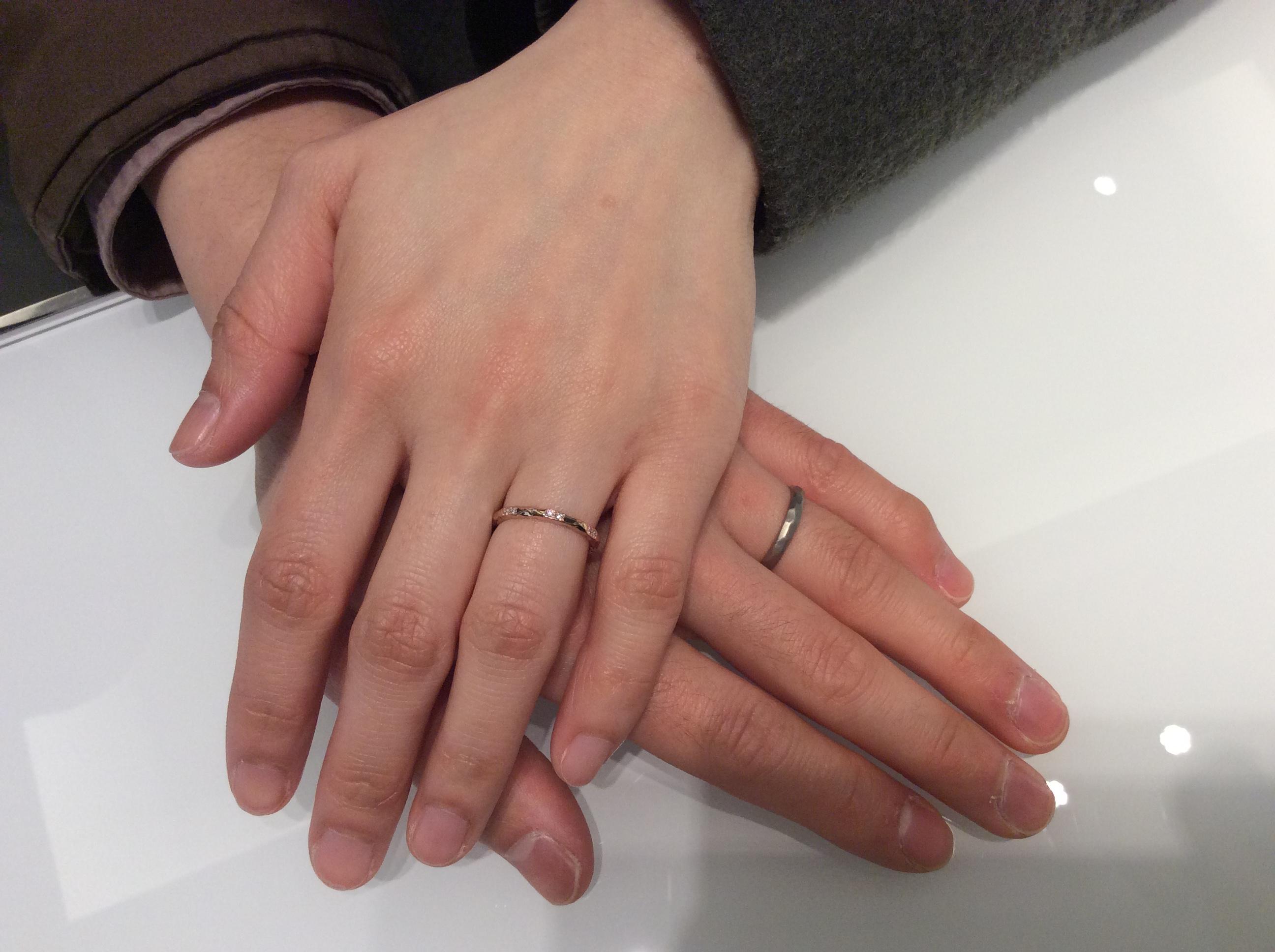 ルシエ「ブランシュ」 結婚指輪をご成約/新潟市 Y様&K様