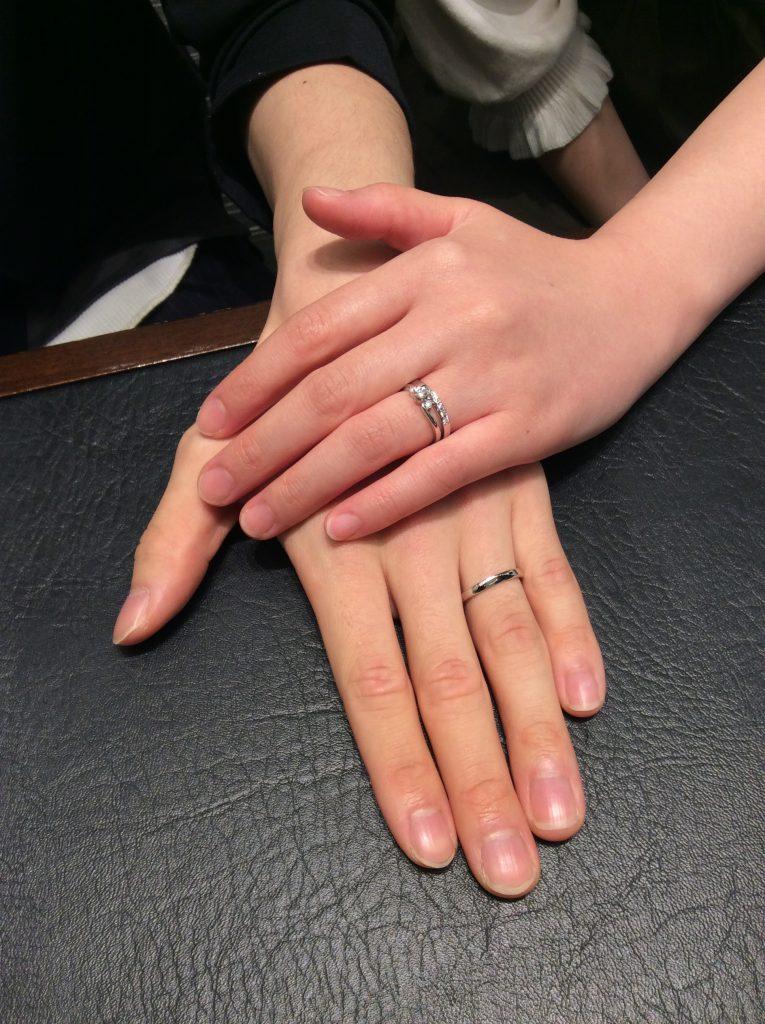 ロイヤルアッシャーの結婚指輪をご成約いただきました/新潟市S様・南蒲原郡M様