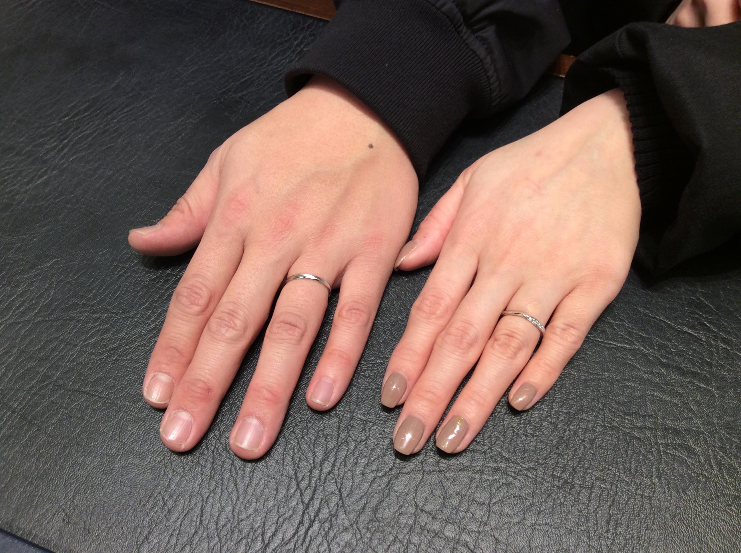 結婚指輪 ロイヤル・アッシャーをご成約いただきました/新潟市 T様&Y様