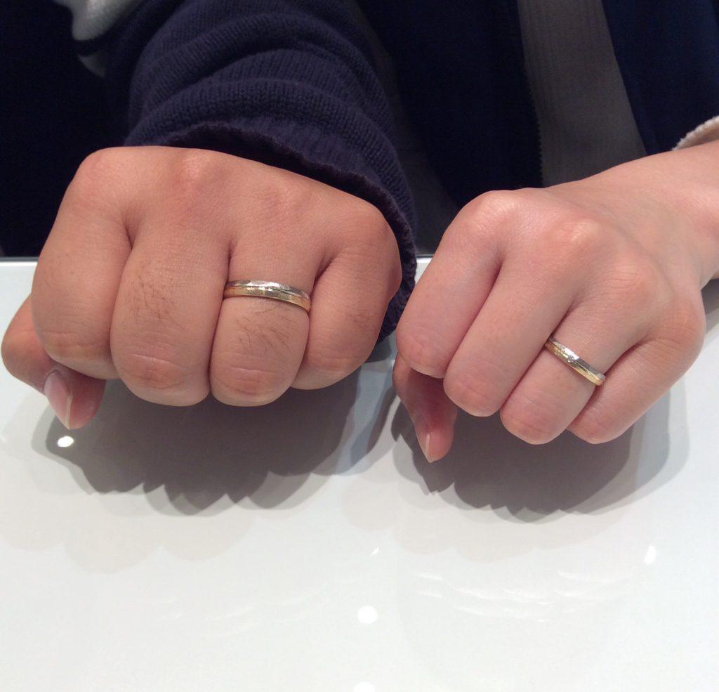 結婚指輪 FISCHER(フィッシャー)をご成約いただきました/新潟市S様・M様