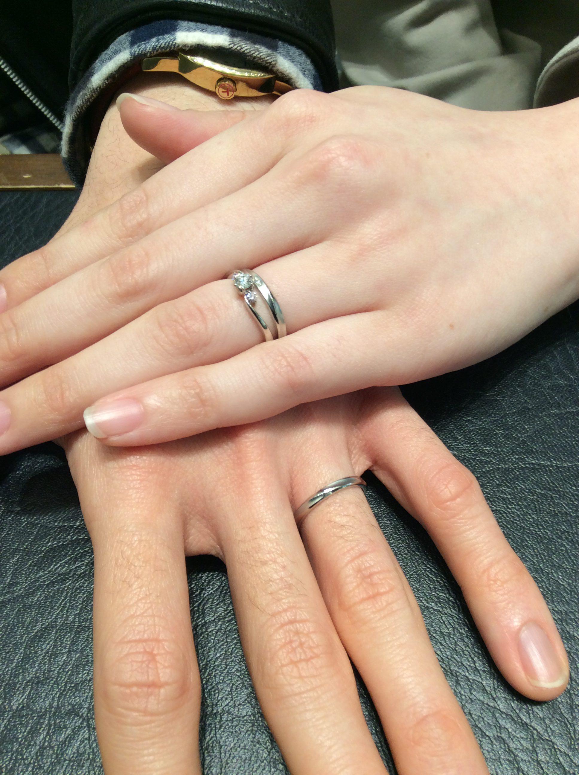 【結婚指輪】ロイヤルアッシャーをご成約いただきました/上越市・長岡市 A様&M様