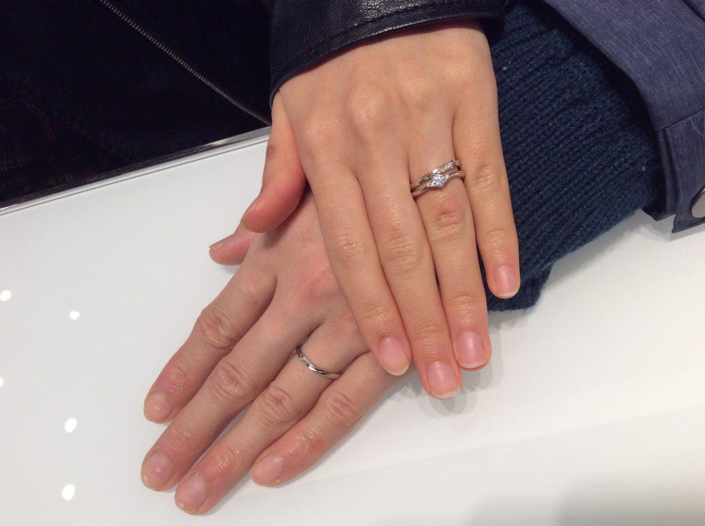 ノクルの結婚指輪をご成約いただきました/新潟市M様・A様