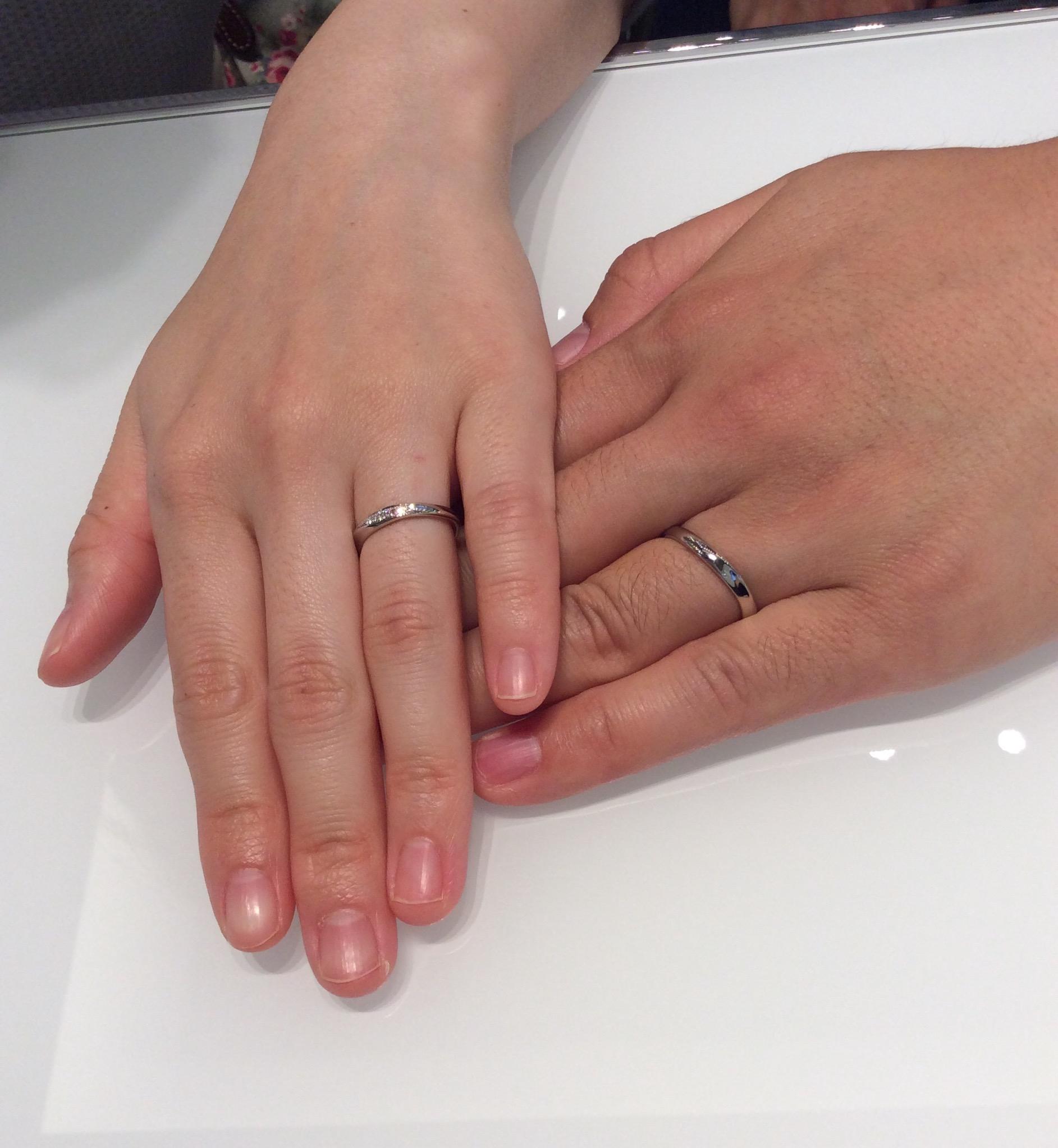【ロイヤルアッシャーの結婚指輪】新潟市Y様・E様のご紹介