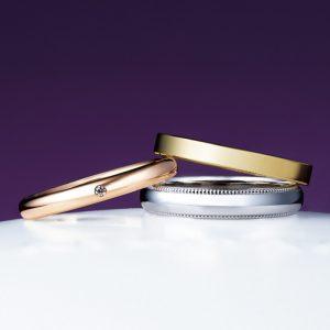 俄(にわか)結婚指輪 ことほぎ画像