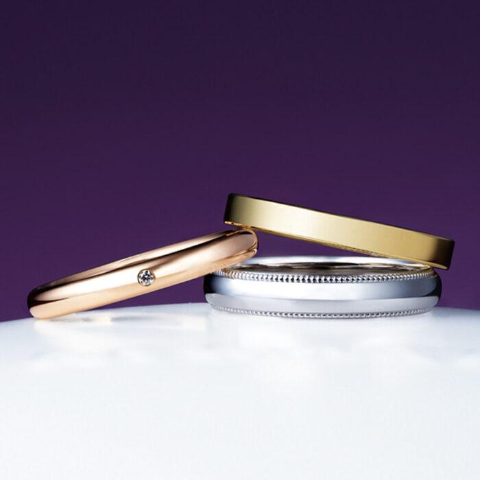 俄(にわか)結婚指輪(マリッジリング) ことほぎ