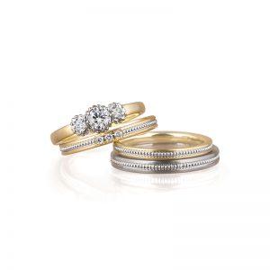LUCIE(ルシエ)結婚指輪 コリーヌ