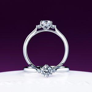 俄(にわか)婚約指輪(エンゲージリング) 白鈴(しろすず)