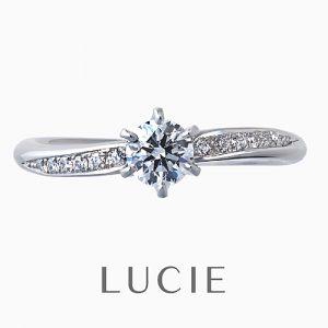LUCIE(ルシエ)婚約指輪 レディアント画像