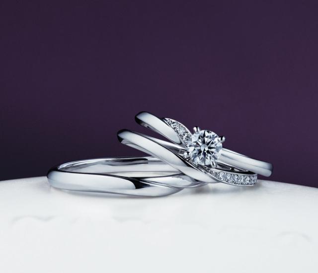 婚約指輪 セットリング 俄 にわか NIWAKA