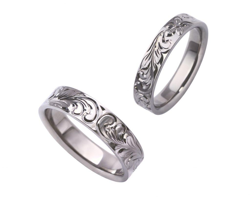 ハワイアンジュエリーの結婚指輪|プラチナで20万代が作れる「イモータル」