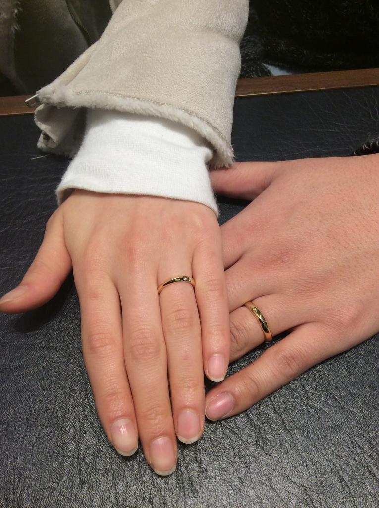 LUCIE(ルシエ)「ムーンライト」結婚指輪をご成約/新潟市H様&K様