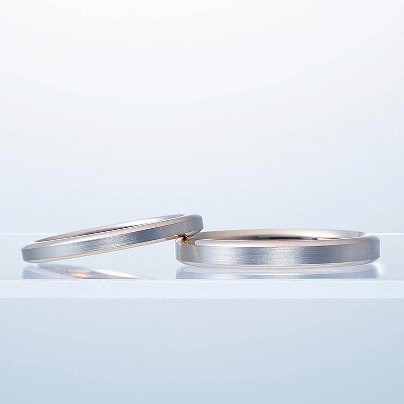 N.Y.俄(ニューヨークニワカ)結婚指輪(マリッジリング) ハーモニー画像