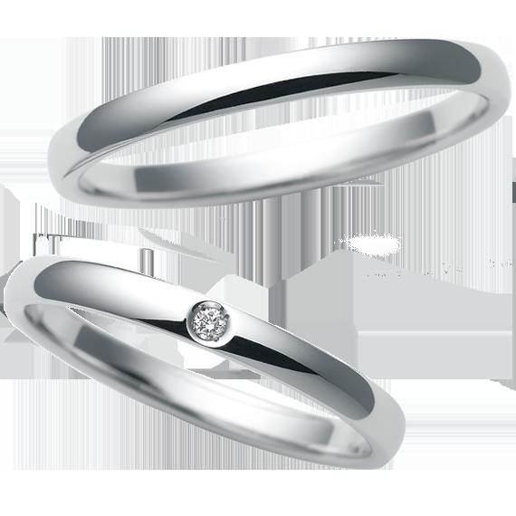 ストレートの結婚指輪