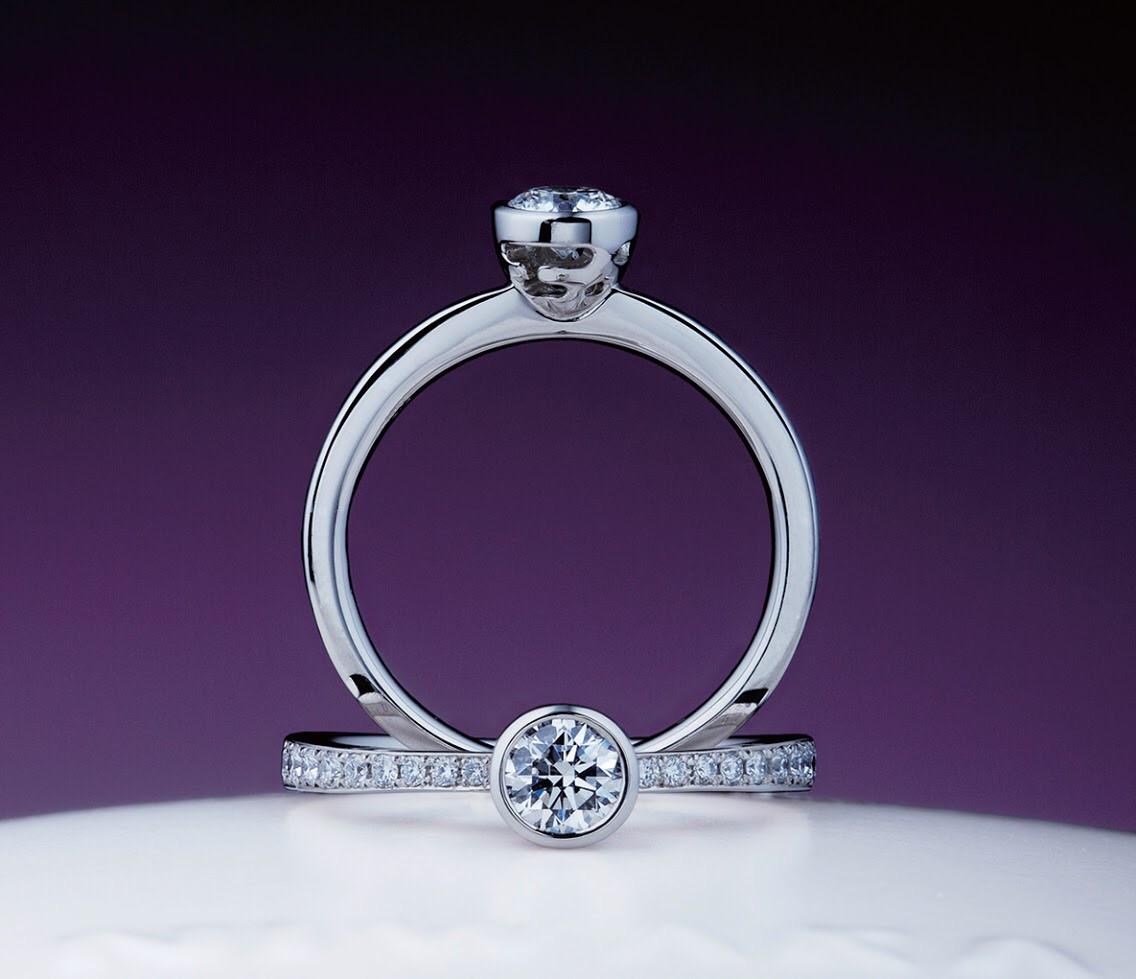 俄 婚約指輪 八重霞