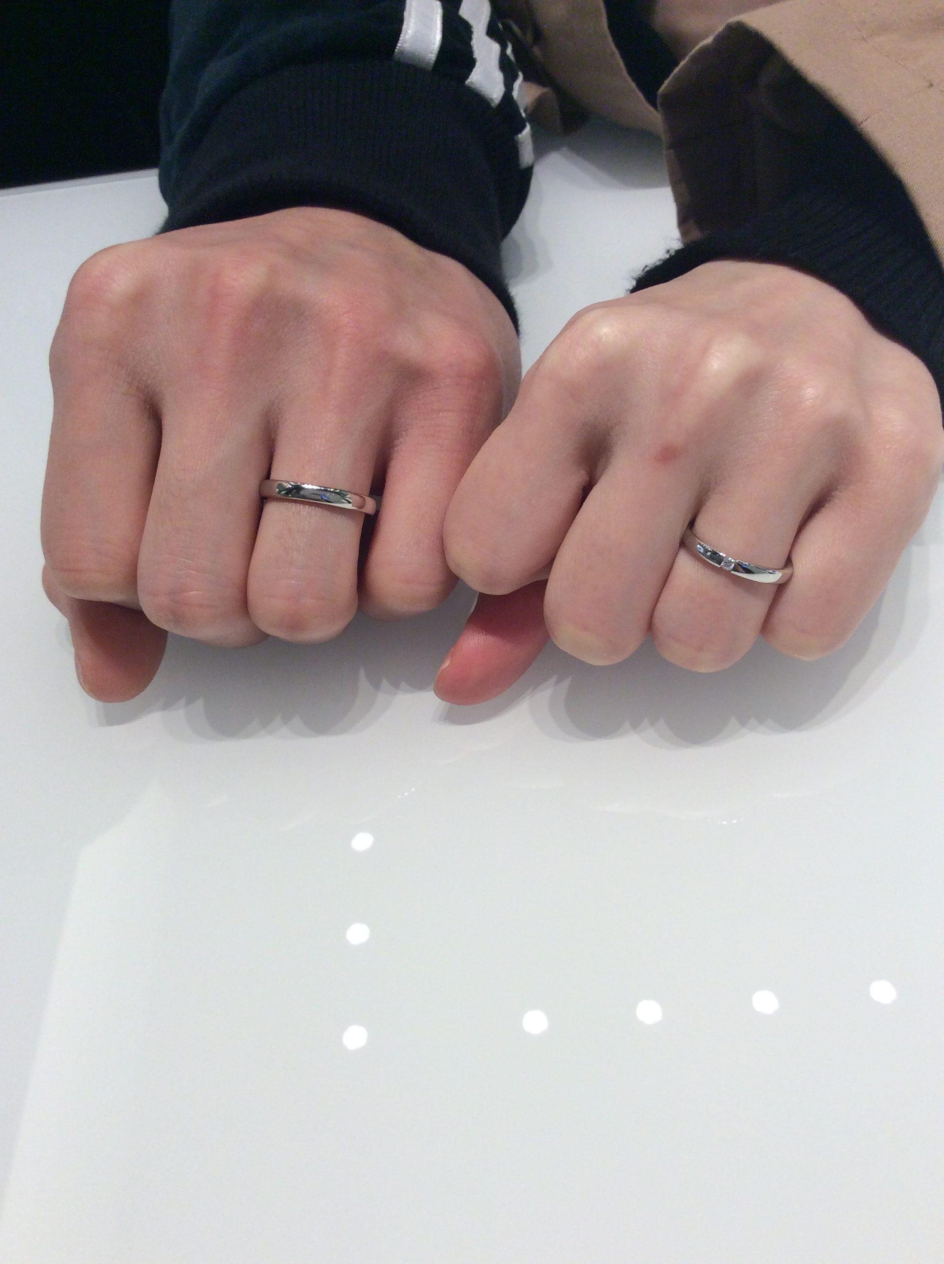 【高級なドイツ製 結婚指輪】FISCHER(フィッシャー)をご成約いただきました/新潟市D様&M様