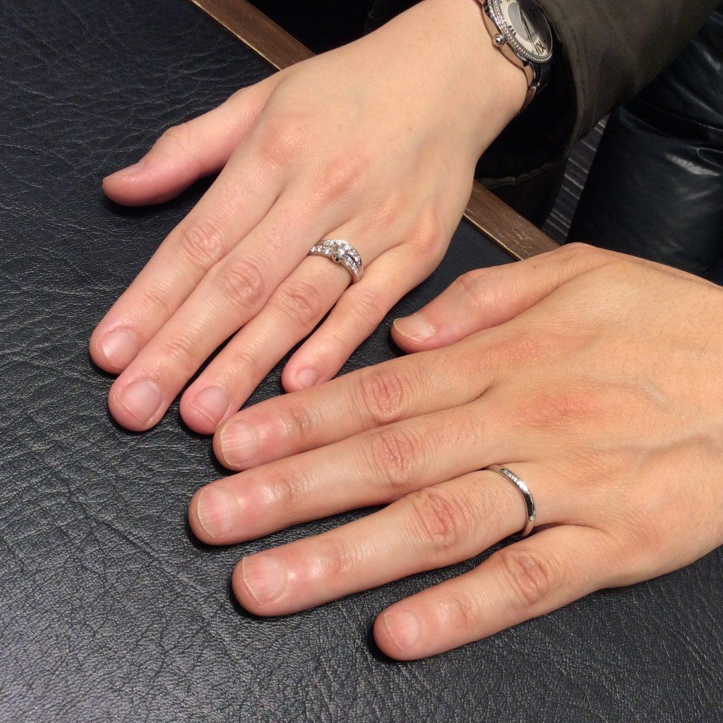 ロイヤルアッシャーの婚約指輪・結婚指輪をご成約いただきました/新潟市K様&Y様