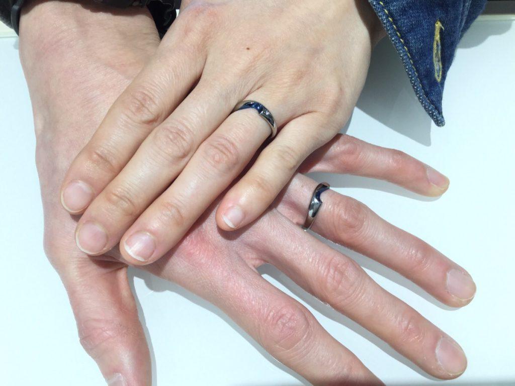 SORAの結婚指輪をご成約いただきました/燕市K様・M様