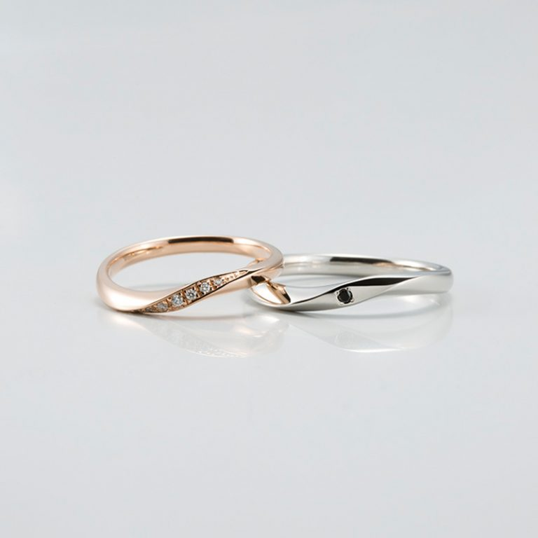ラピュールの結婚指輪「クール」