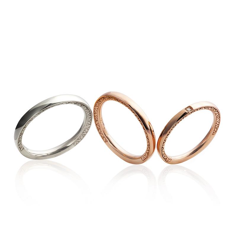 LUCIE(ルシエ)結婚指輪(マリッジリング) ネッサンス画像
