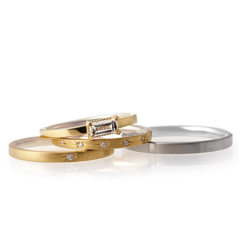 LUCIE(ルシエ)結婚指輪(マリッジリング) パレ画像