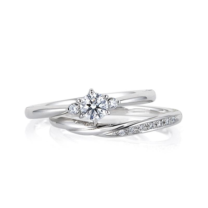 LUCIE(ルシエ)婚約指輪(エンゲージリング) セリーン画像